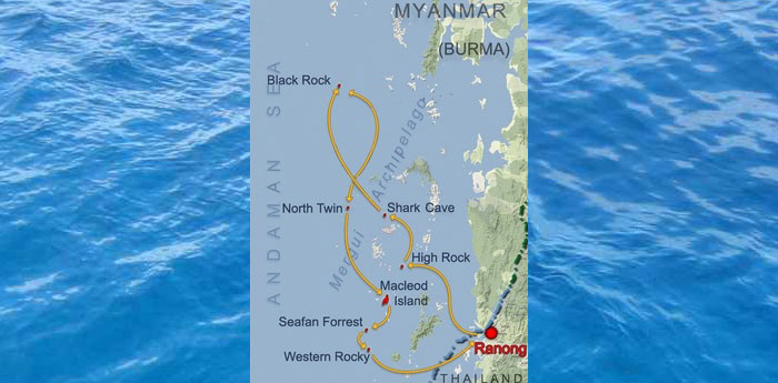 Itinerary for Scuba Diving in Myanmar