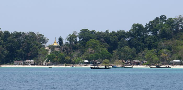 Moken villages around Mergui Archipelago