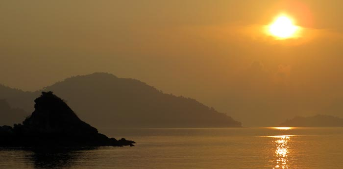 Mergui Archipelago, Andaman Sea Sunsets