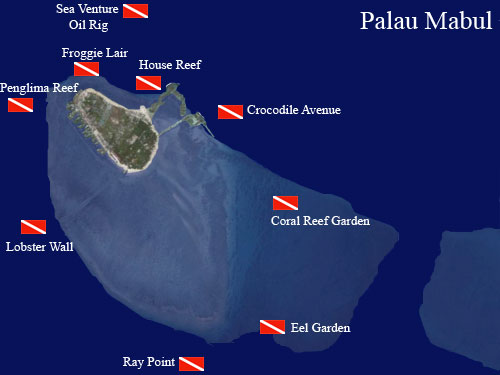 Discover the dives sites around mabul island south east - Sipadan dive sites ...