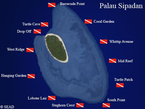 Discover the dives sites around sipadan island south - Sipadan dive sites ...